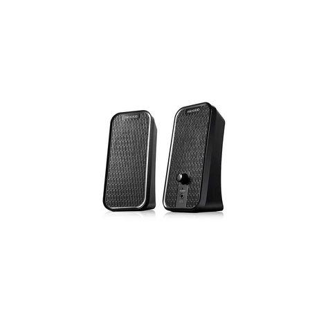 Колонки Microlab B55 2.0 4Вт (2Вт*2) USB Чёрный