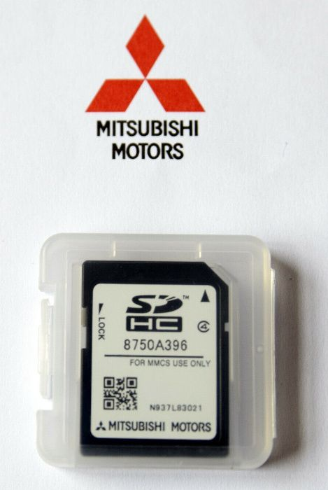 2019/2020 Mitsubishi Навигационна MMCS Sd Card Map Europe Сд Карта