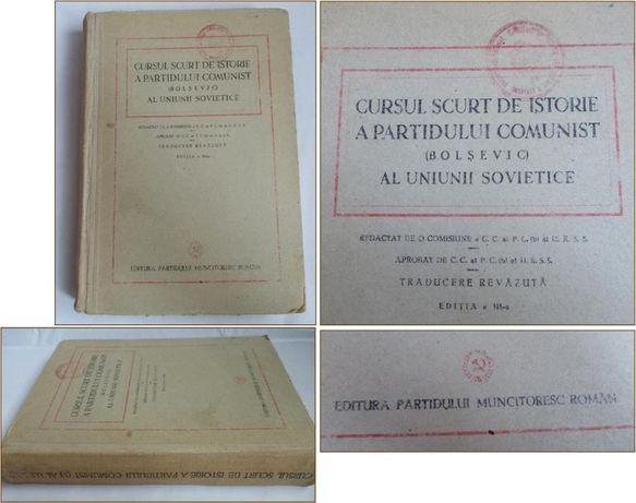 Cursul scurt de istorie a Partidului Comunist Bolsevic - 1948 PMR