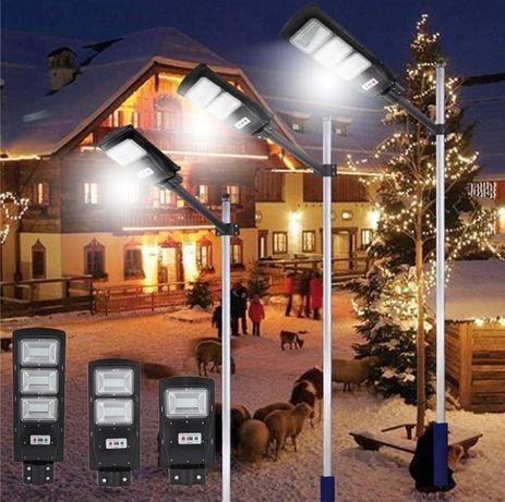 Улична Соларна Лампа 20 40 и 60 Вата