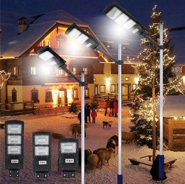 Улична Соларна Лампа 20 40 и 60 Вата гр. Габрово - image 1