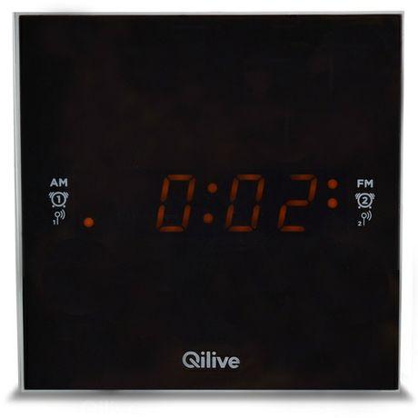 Radio ceas cu port USB si intrare audio auxiliara