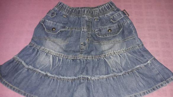 Дънкова и джинсова пола