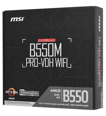 Материнская плата MSI B550M PRO-VDH WIFI, MB Socket AM4