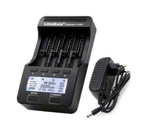 Новое Интеллектуальное зарядное устройство LiitoKala Lii-500