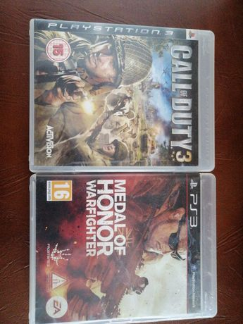 Jocuri ps3. Call of duty 3 si Medal of Honor.