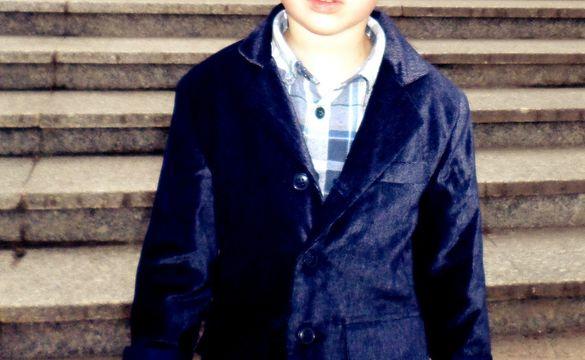 Детски официален костюм - сако и панталон