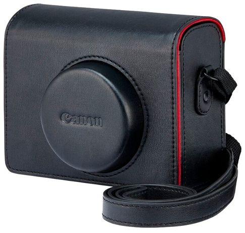 Чехол Canon DCC-1830 черный, кожа, для Canon G1 X Mark III (Оригинал)