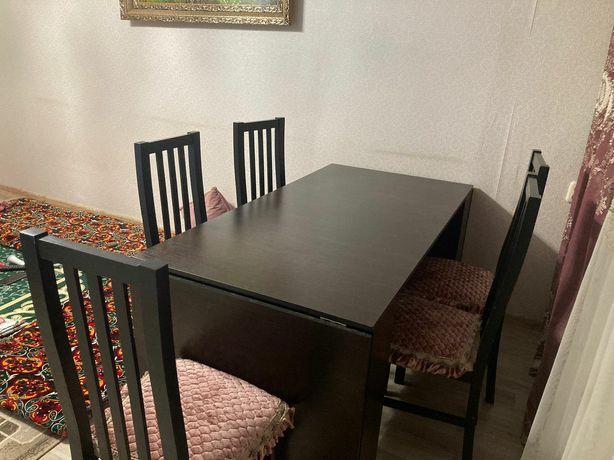 Стол и 5 стульев