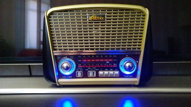 Ritmix RPR-050 Радио/MP3-колонка, фонарик (Новый)