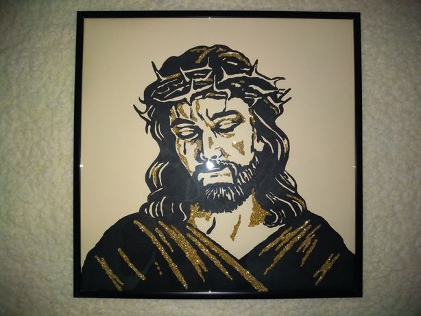 Icoana Isus stil pop art