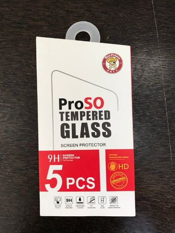 4 buc. Sticlă Iphone 7 / 8 plus 9h tempered glass