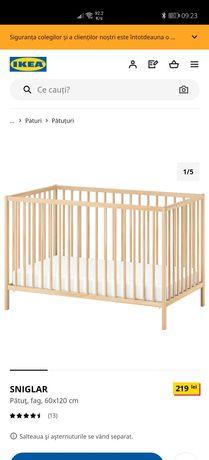 Patut bebe NOU 60x120 Ikea