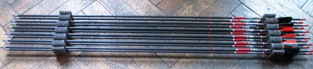 săgeţi carbon, noi, sigilate, rezistente, spin 600 (24 buc.)