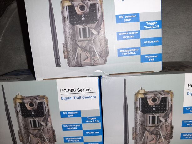 Camera Vanatoare 4G LTE Cartela Sim Hunting Securitate Video