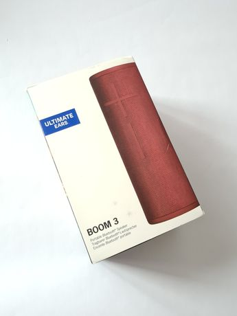 Boxa portabila Ultimate Ears BOOM 3, IP67, Red sau Blue SIGILAT