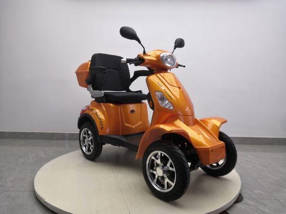 MaXmotors Електрическа Четириколка Скутер 1500w 2020