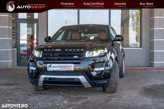 Land Rover Range Rover Evoque Finantare GARANTATA pentru soferi cu diurna