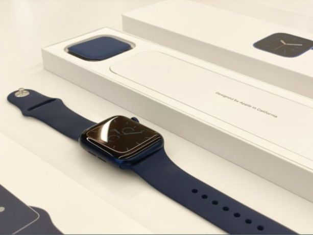 Apple Watch 6 44mm(синий)