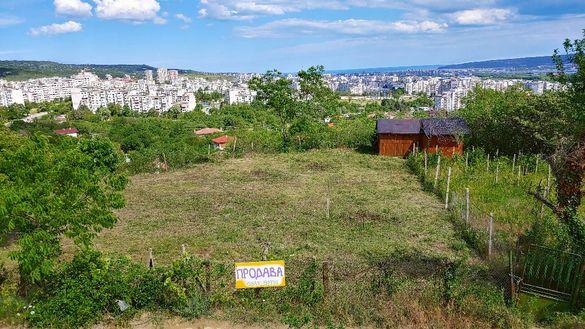 два парцела в м.Ментеше, до Варна. Прекрасна панорама и спокойствие.