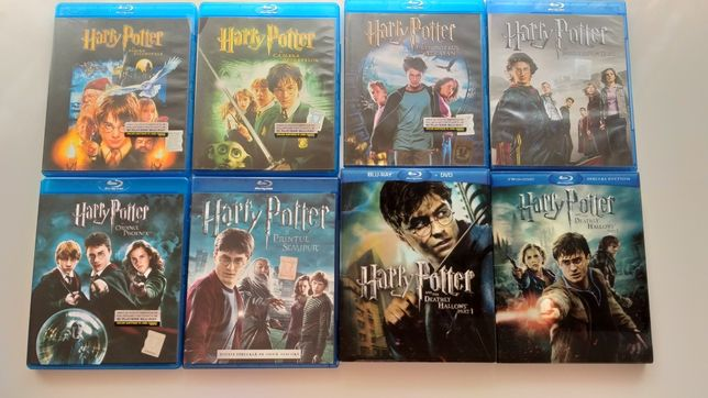 Harry Potter blu ray cu romana