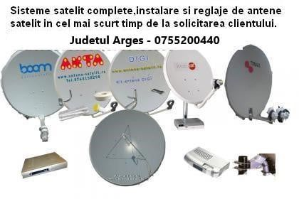 Montaj Antene Satelit - Judetul Arges