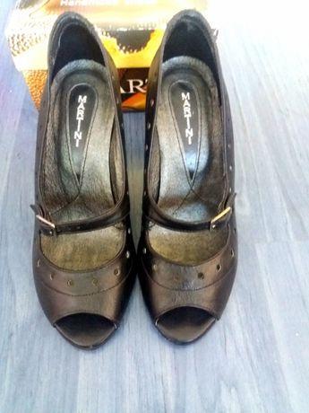 Обувки Мартини, естествена кожа