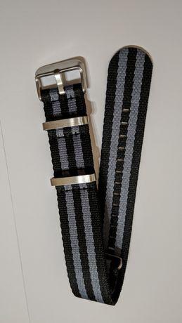 Curea de ceas premium model James Bond nato 22 mm marime L
