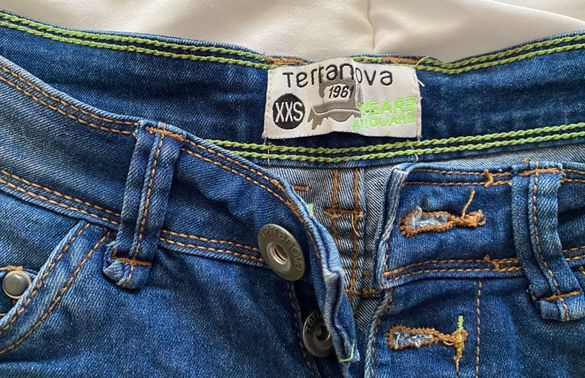 "Къс дънков панталон ,,Terranova"""