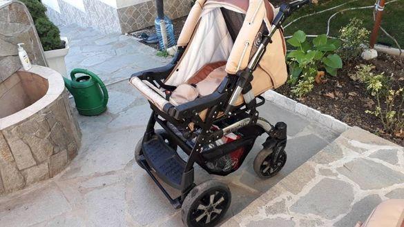 Бебешка количка BABY-MERC S6 3в1