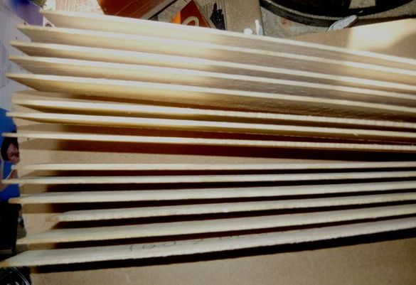 Дървена лента от ясен