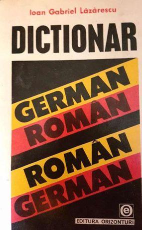 dictionar roman -german, german-roman