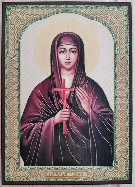 Икона на Света Валентина ikona sveta valentina гр. Пловдив - image 1