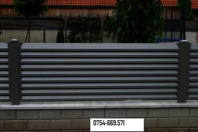 Tabla cutata zincata vopsita H12 H35 H60/ sipca metalica gard. FABRICA