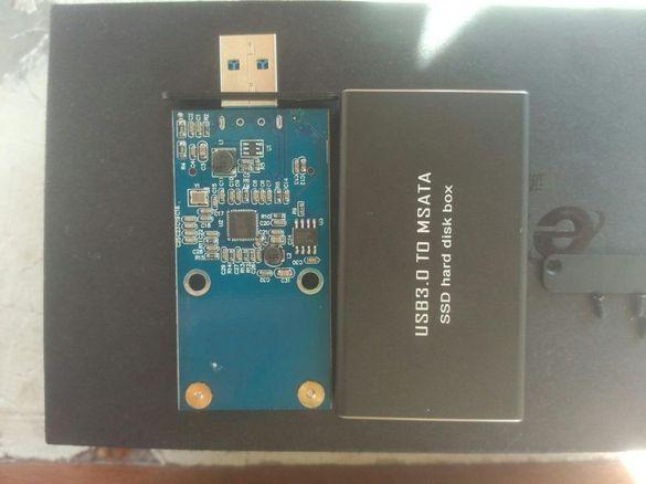Продавам качествена метална кутйки за SSD диск msata и ngff m.2 ssd