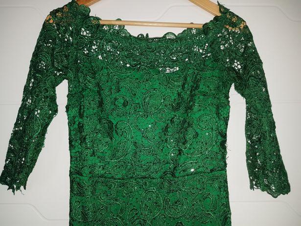 Vand rochie verde smarald