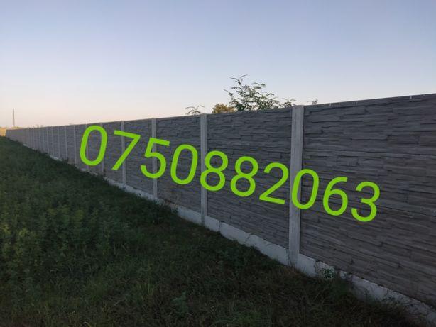 Gard din beton cu sau fără montaj !