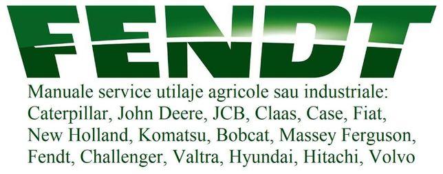 Manual service reparatii tractor combina Fendt carte