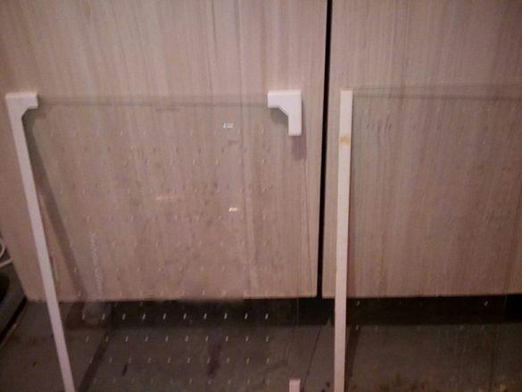 Стъклени рафтове за хладилник