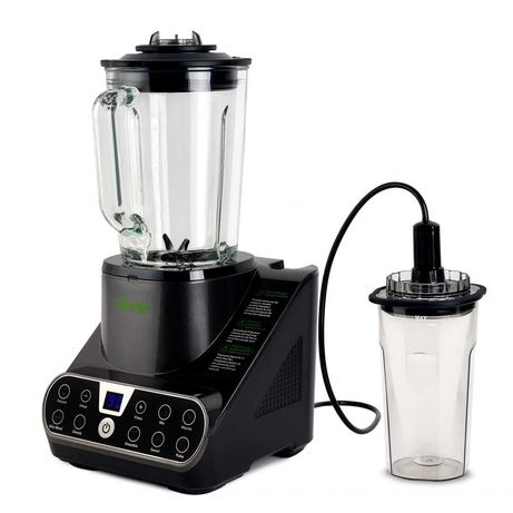 Blender Cu Mixare În Vid, 1300W, Vas din Sticlă 1.5L, 7 Programe