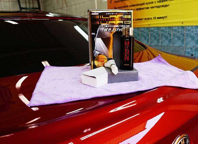 Silane Guard Жидкое стекло на авто made in Japan