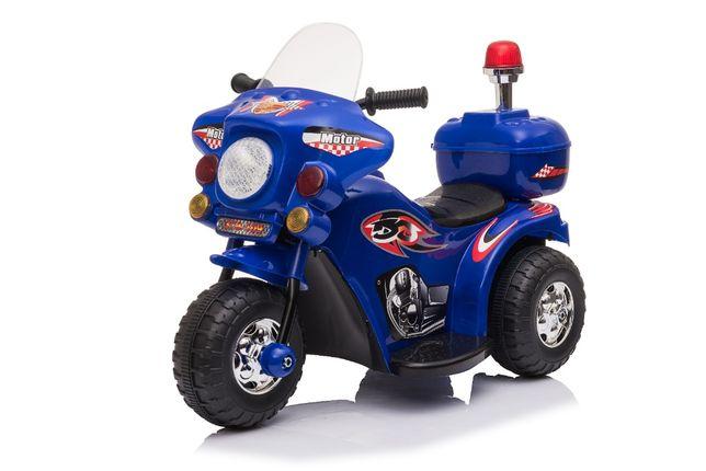 Mini Motocicleta electrica cu 3 roti BJQ991 25W STANDARD #Albastru