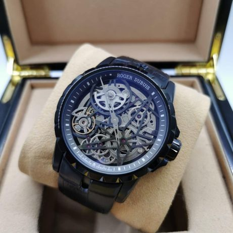 Roger Dubuis Excalibur Mens 45mm Black