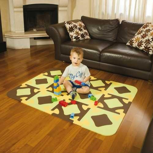 Подложка за игра Okbaby Funny Flay Mat 889 детско килимче  пъзел