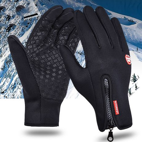 Термо ръкавизи за тичскрийн , водоустойчиви , ветроустойчиви