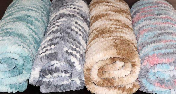 Плетено одеало за бебета и деца