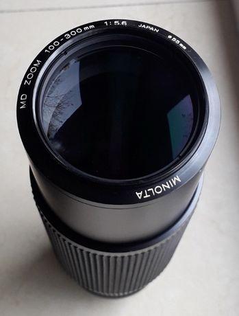 Minolta Tele Zoom 100-300mm F5,6constant ,adaptat SonyA7, NEX