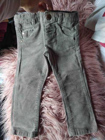 Джинси H&M 12-18 месеца сиви