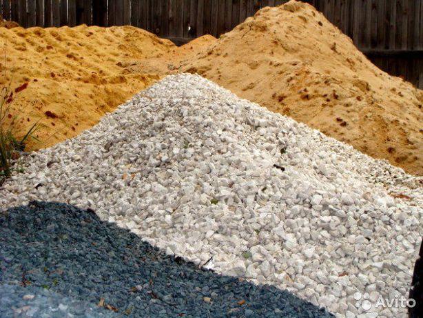 Песок, щебень, отсев, хвосты, перегной, чернозем. Вывоз мусора