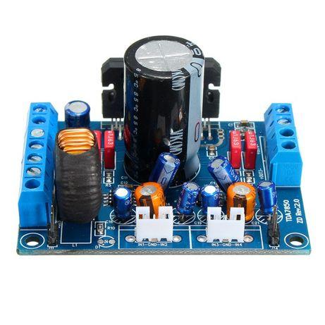 Amplificator de putere auto 4 x 50W cu TDA7850